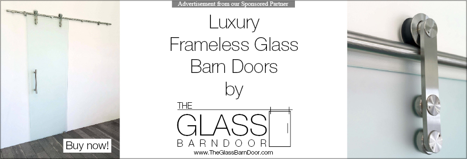 The Glass Barn Door