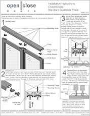 Layered Glass Room Dividers Installation Instructions