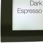 Dark Espresso Frame Finish