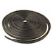 Ellipsed Black Wood Ring Ribbon Circles