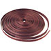 Ellipsed Brown Wood Ring Ribbon Circles