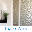 Layered Glass Room Dividers Wall Systems