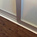 Glass Sliding Closet Doors Bottom View