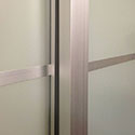 Glass Sliding Door Dividers Detail View