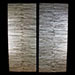 Coastal Branch Stack Sliding Closet Doors Cool Back Light View