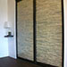 Coastal Branch Stack Sliding Closet Doors Right View