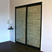 Coastal Branch Stack Sliding Closet Doors