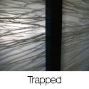 Trapped Series Sliding Closet Doors