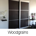 Woodgrains Sliding Closet Doors